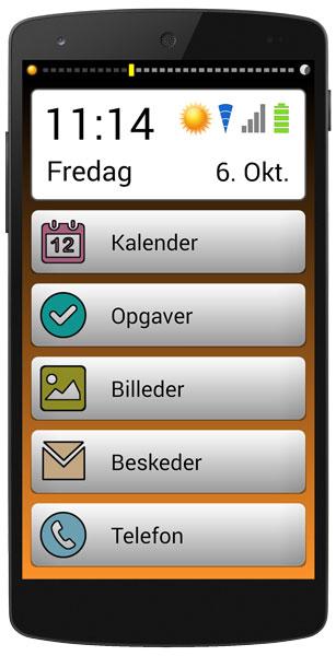 DoMyDay telefon med alle moduler